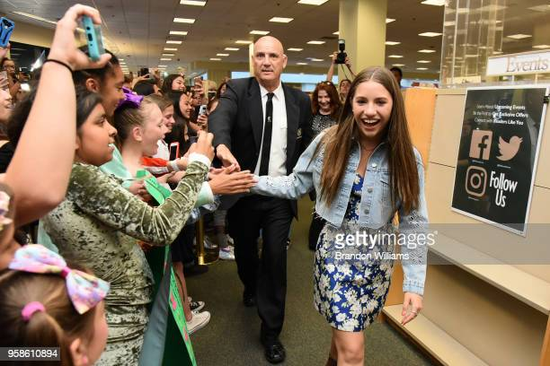 Mackenzie Ziegler celebrates her new book Kenzie's Rules for Life at Barnes Noble at The Grove on May 14 2018 in Los Angeles California