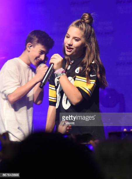 Mackenzie Ziegler performs during the 'Day NIght' tour at Mr Smalls on October 28 2017 in Millvale Pennsylvania