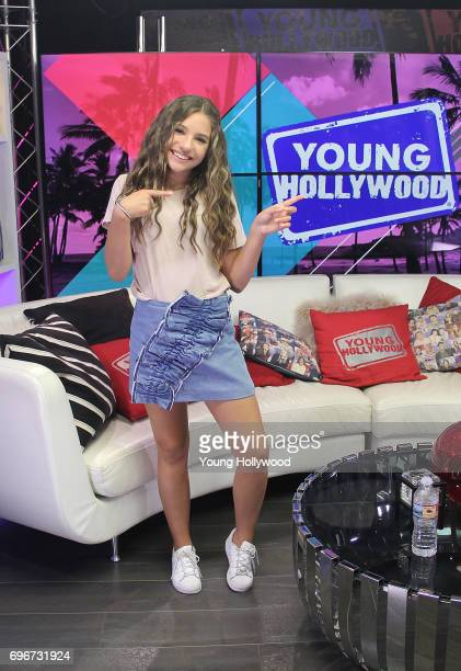 Mackenzie Ziegler visits the Young Hollywood Studio on June 16 2017 in Los Angeles California
