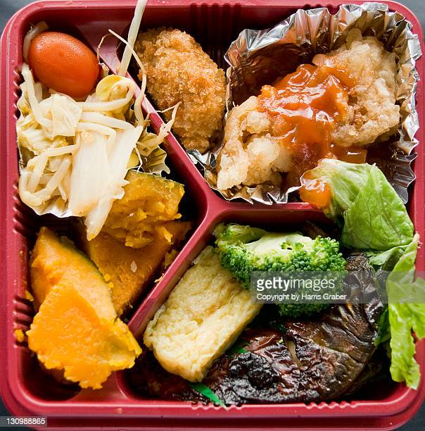 Mackerel bento