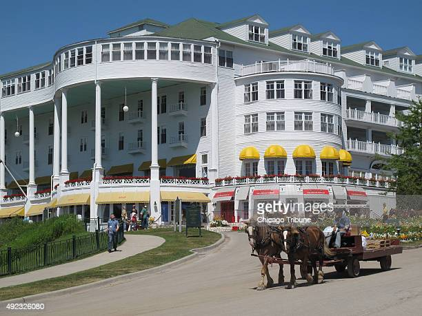 Mackinac Island is one of the cruise's excursions and you can't visit Mackinac without stopping at its iconic Grand Hotel