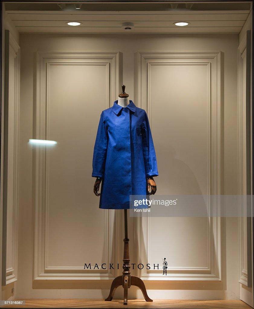 Mackintosh Window Display, Tokyo, Japan : News Photo