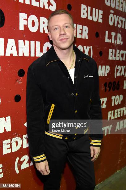 Macklemore attends 1027 KIIS FM's Jingle Ball 2017 presented by Capital One at The Forum on December 1 2017 in Inglewood California