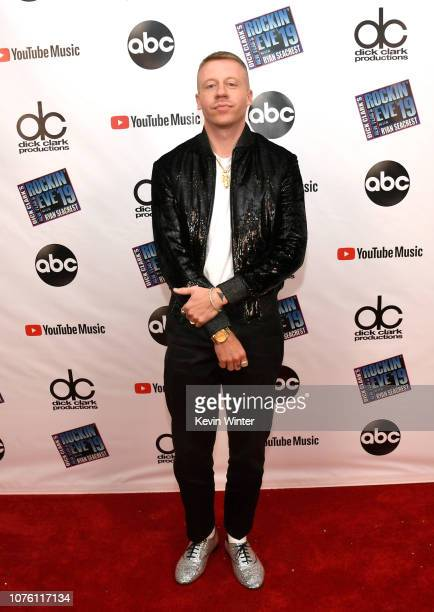 Macklemore attends Dick Clark's New Year's Rockin' Eve With Ryan Seacrest 2019 on December 31, 2018 in Los Angeles, California.