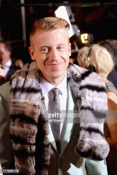 Macklemore attends the 2013 MTV Video Music Awards at the Barclays Center on August 25 2013 in the Brooklyn borough of New York City