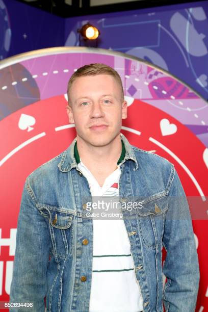 Macklemore attends the 2017 iHeartRadio Music Festival at TMobile Arena on September 23 2017 in Las Vegas Nevada