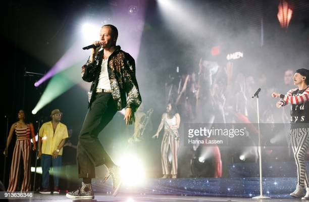 Macklemore performs at Hordern Pavilion on February 3 2018 in Sydney Australia