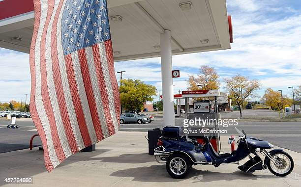 C Macklin's 2002 Road Hawk is parked at the pump at Brad's Conoco 1075 S Union Blvd in Lakewood CO to get some ethanolfree gasoline on Wednesday...