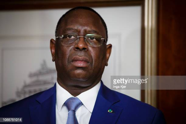 Macky Sall President of Senegal captured on October 30 2018 in Berlin Germany