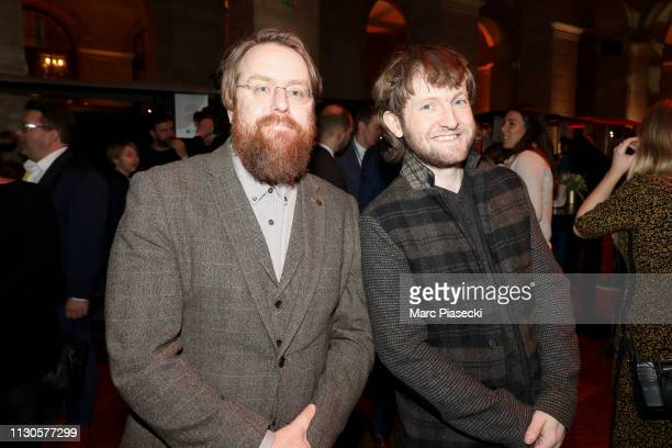 JP Macmahon and Doug McMaster attend The World Restaurant Awards on 18th February 2019 at Palais Brongniart on February 18 2019 in Paris France