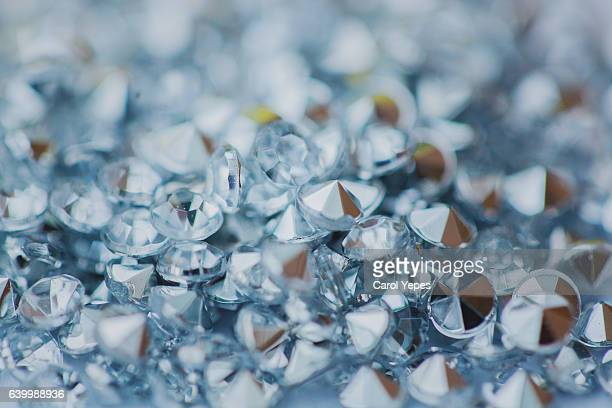 macro abstract glitter diamonds