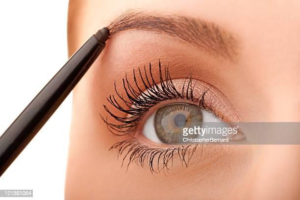 Macro green eye