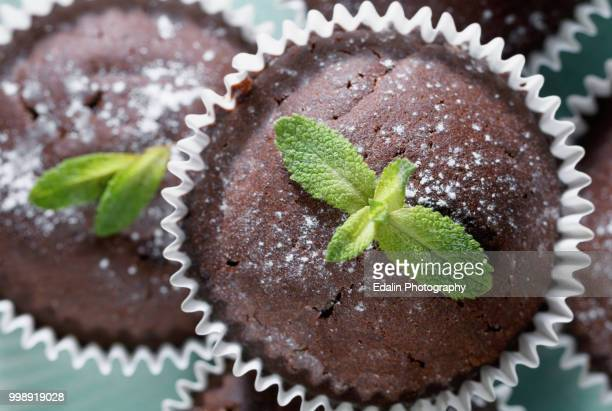 macro muffin - shiso stock pictures, royalty-free photos & images