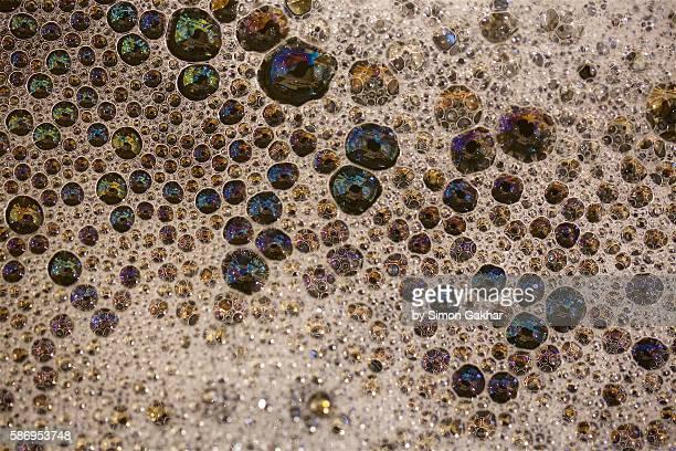 Macro Photograph of Bubbles