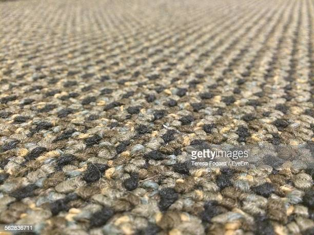 Macro Shot Of Carpet