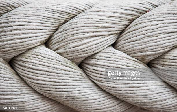 macro shot of rope - seil stock-fotos und bilder
