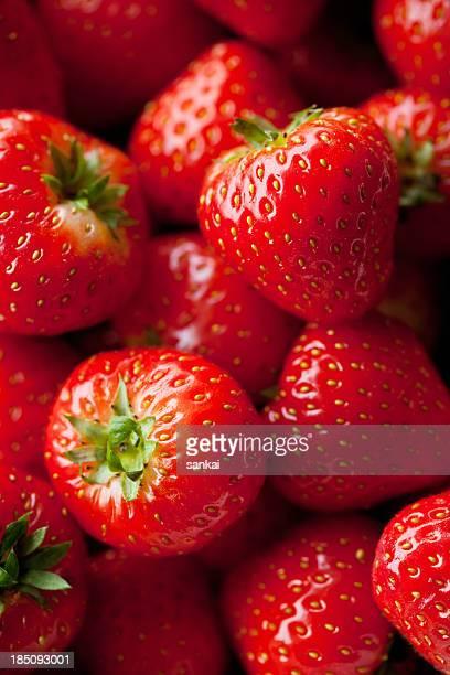 Makro Schuss von strawberry