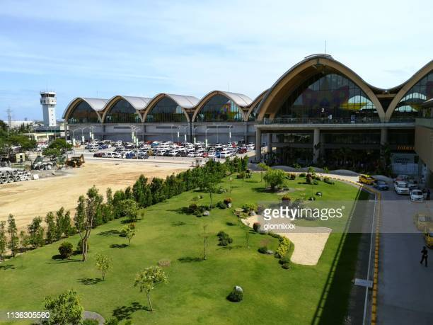 mactan–cebu international airport, philippines - cebu province stock pictures, royalty-free photos & images