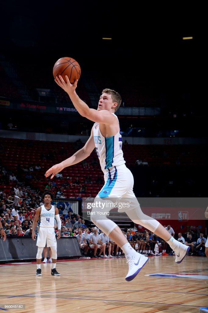 8b7019f90aa4 2018 NBA Summer League - Las Vegas - Oklahoma City Thunder v Charlotte  Hornets   News