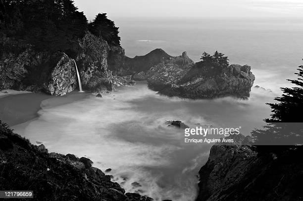 macway fall, big sur, california, usa - big mac stock pictures, royalty-free photos & images