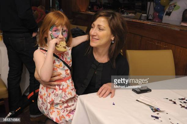 Macy Falco and actress Edie Falco attend Disney Live Mickey's Music Festival at Madison Square Garden on March 23 2013 in New York City