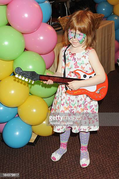 Macy Falco attends Disney Live Mickey's Music Festival at Madison Square Garden on March 23 2013 in New York City