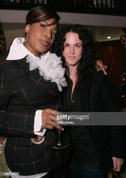 Macy Gray and Amanda Demme during Crustacean Hosts Benefit for The M Gray Music Academy Inside and Performances at Crustacean in Beverly Hills...