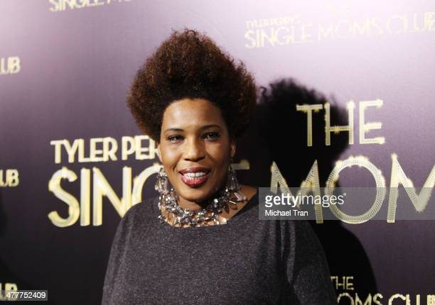 Macy Gray arrives at the Los Angeles premiere of Tyler Perry's The Single Moms Club held at ArcLight Cinemas Cinerama Dome on March 10 2014 in...