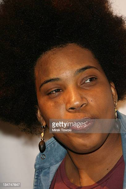 Macy Gray during An evening with Ray Kennedy and friends at 'Avalon' Club in Hollywood California United States