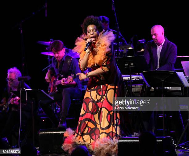 Macy Gray performs at 13th Annual Musicares MAP Fund Benefit Concert Honoring Adam Clayton at PlayStation Theater on June 26 2017 in New York City