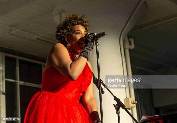 Macy Gray performs at Loft Party A Night for the Soul for Jazz Foundation of America at Hudson Studios