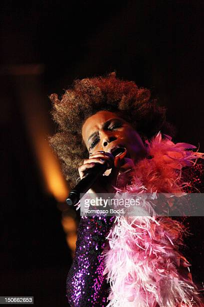 Macy Gray performs at The Americana at Brand on August 23 2012 in Glendale California