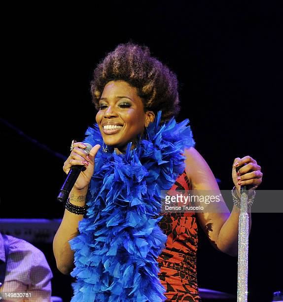 Macy Gray performs at The Palms Casino Resort on August 4 2012 in Las Vegas Nevada