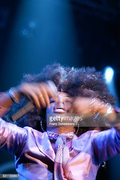 Macy Gray, vocal, performs at the North Sea Jazz Festival on July 10th 2004 in Amsterdam, the Netherlands.