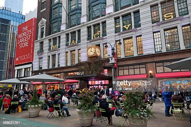macy's herald square em nova york - macy's - fotografias e filmes do acervo