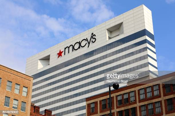 Macy's building in Cincinnati Ohio on July 21 2017