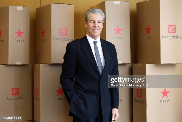 Macy's CEO Terry Lundgren at Fung Group in Central 04NOV15