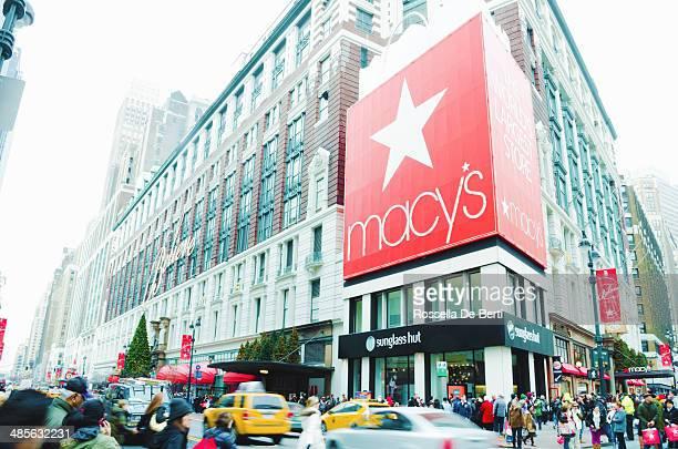 macy's herald square, new york - macy's - fotografias e filmes do acervo