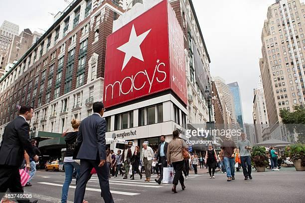 loja macy's herald square - macy's - fotografias e filmes do acervo