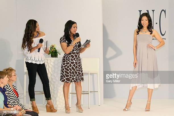 Macy's International Concepts brand Ambassador Camila Alves and Cosmopolitan for Latinas Beaty Editor Milly Almodovar cohost a fashion show at Macy's...