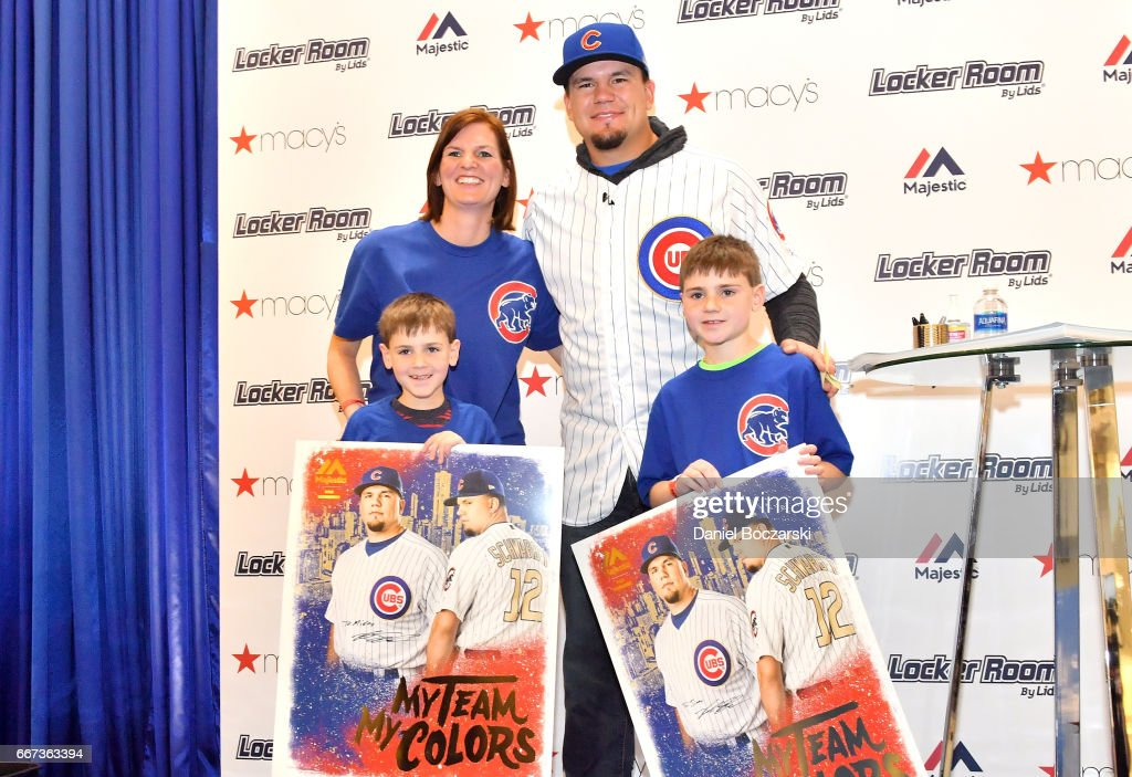 Macy\'s Locker Room By Lids And Majestic Welcome Chicago Cubs Kyle ...