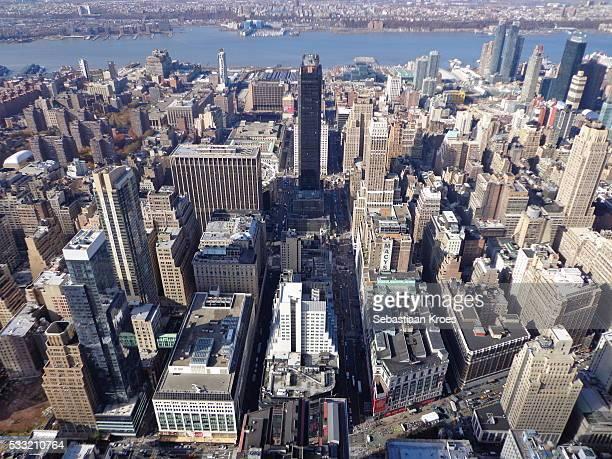 Macy's, Madison Square Garden, Skyline, New York, United States of America