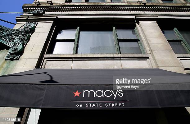 Macy's on State Street in Chicago Illinois on MARCH 25 2011
