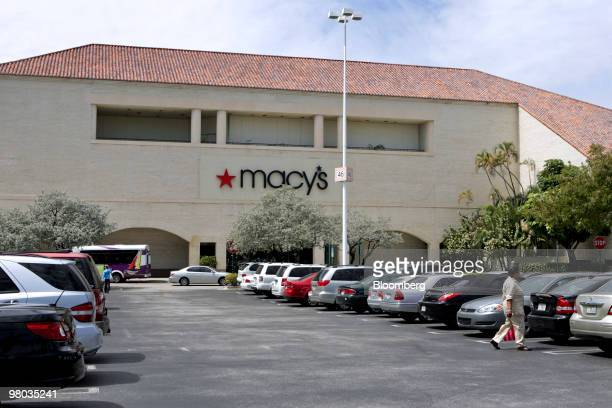 A Macy's store stands at the Turnberry Associates Aventura Mall in Aventura Florida US on Tuesday March 16 2010 Jeffrey Soffer chief executive...