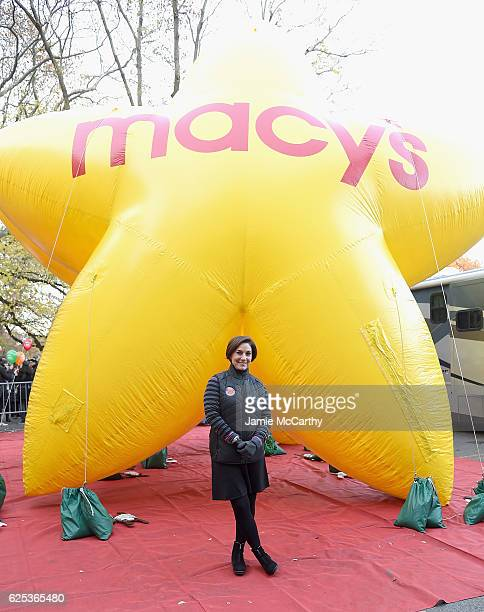Macy's Thanksgiving Parade executive producer Amy Kule attends the 90th Anniversary Macy's Thanksgiving Day Parade Inflation Eve on November 23 2016...