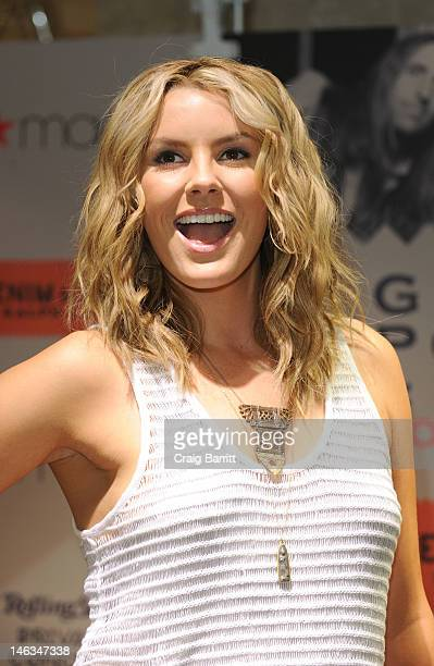 Macy's Welcomes Grace Potter and the Nocturnals at Macy's Herald Square on June 14 2012 in New York City