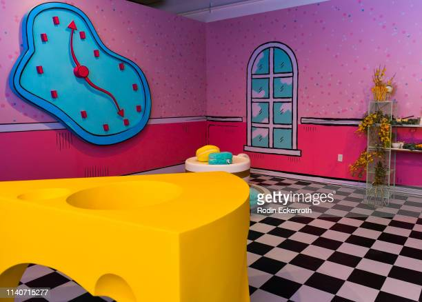 Mad Hatter Room at WonderWorld Hollywood and Experience PopUp Opening Night Party on April 05 2019 in Hollywood California