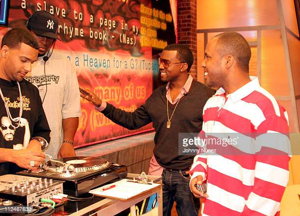 Mad Linx Jason Armstrong of BET Kanye West and Consequence