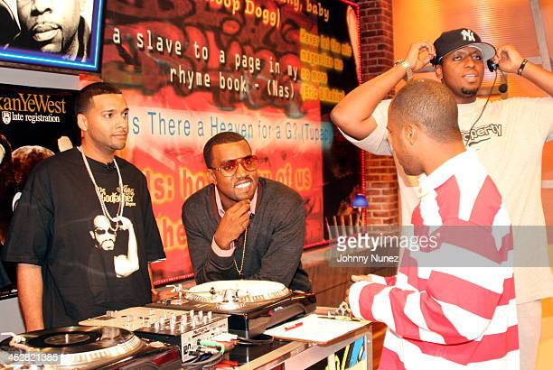 Mad Linx Kanye West Jason Armstrong of BET and Consequence