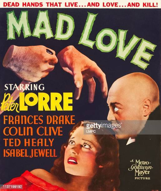 Mad Love poster Frances Drake Peter Lorre 1935